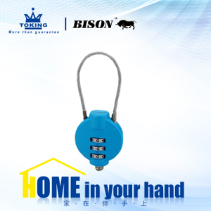 Zinc Alloy Combination Padlock WA414-1