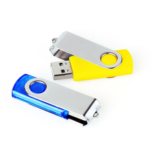 Cheap price high quality metal swivel usb flash drive with optional capacity