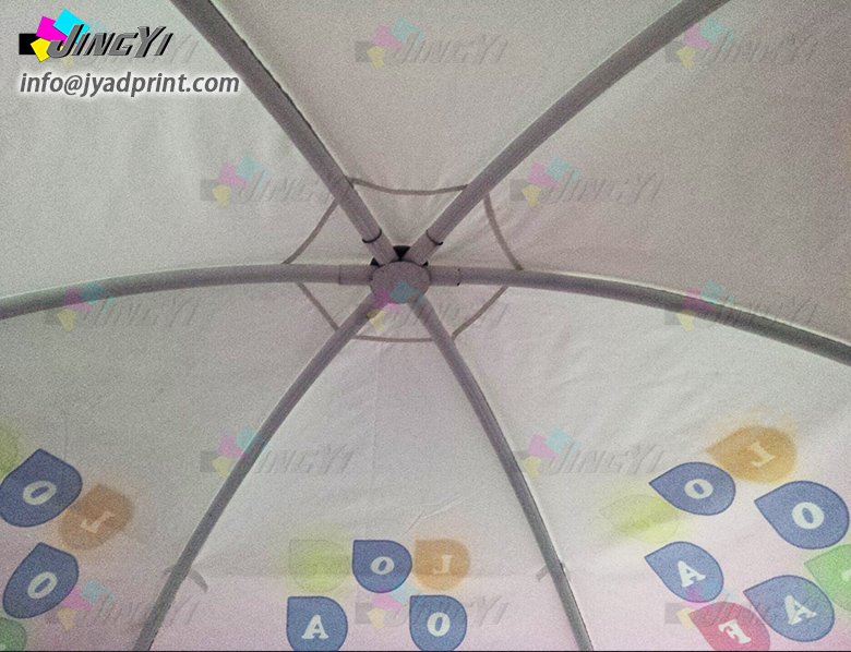 Custom Dome Event Tent Full Color Heat Transfer Print Dome Exhibition Event Tent Advertising Sales Promotion Outdoor Calotte Tents