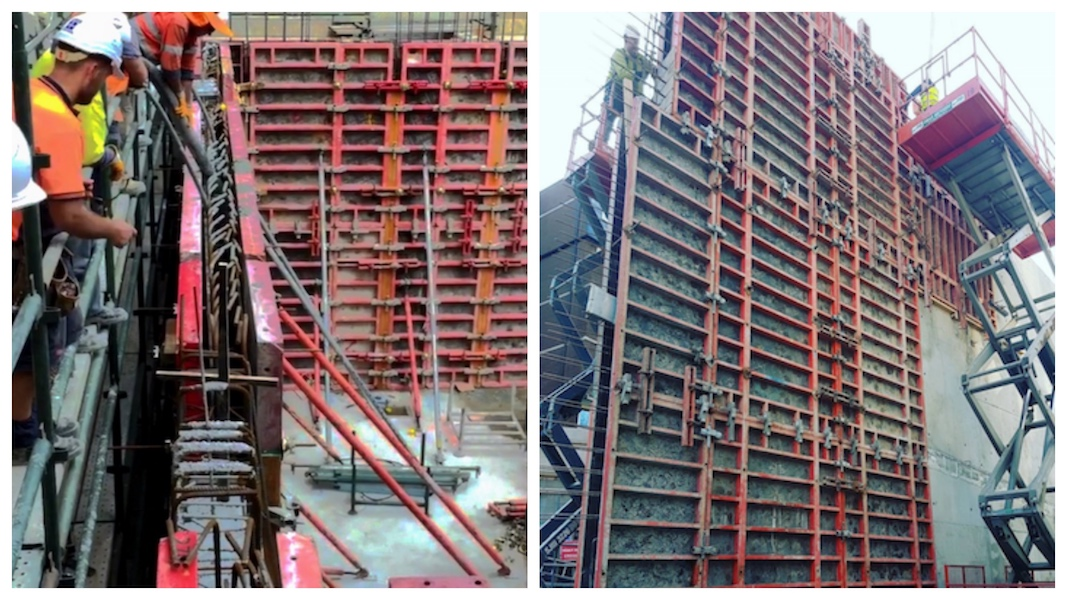 NGM_Vertical Wall_TRIO Frame Formwork_With Plywood f