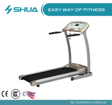 Home treadmill running machine Silver grey without painting