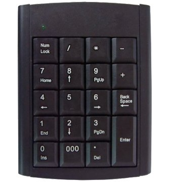 Number Keypad for Laptop (KB-307)