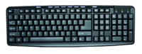 107 Keys Keyboard with 9 Multimedia Keys USB Keyboard, 2.95 USD