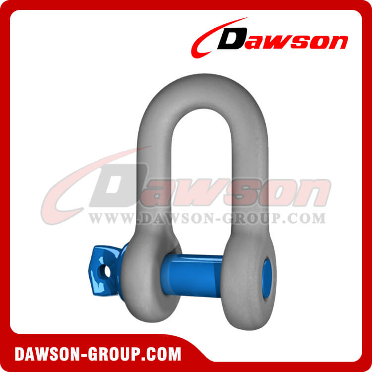 Dawson Brand Hot Dip Galvanizado US Tipo Chain Shackle com parafuso Pin