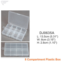 DJ0635A/B 8 Compartment Storage Box