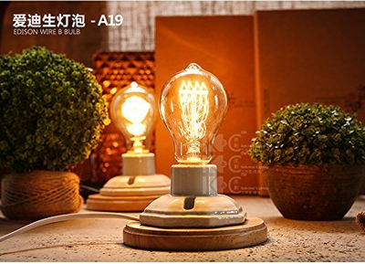 A19 A60 Hot Sale Vintage Industrial Pendant Light Used Edison Bulb