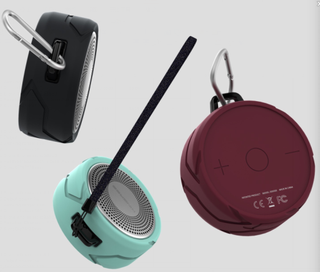 round speaker portable microphone with speaker best gift for promotinal