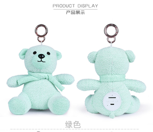 Mini bluetooth device with portable bear shape