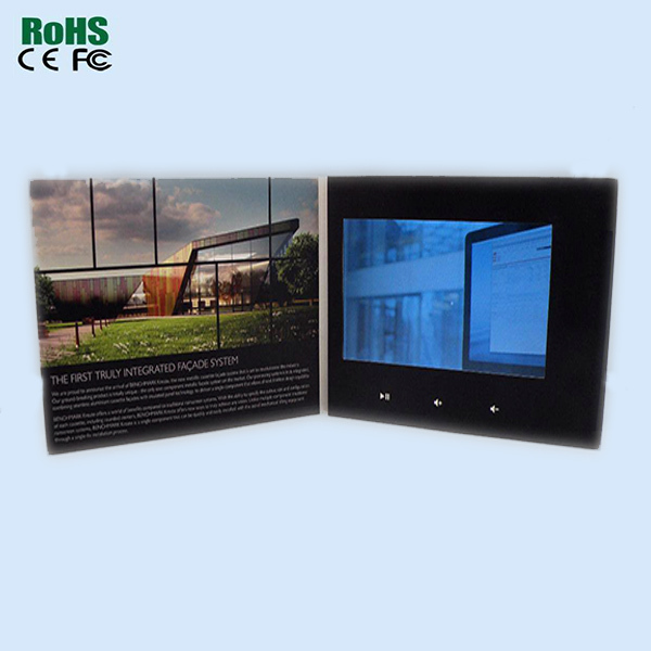 high resolution lcd video player module
