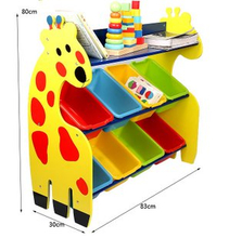Kids Wooden Toys Storage