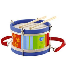 Wooden Drum Toys for Children, Kids Wooden Musical Toys