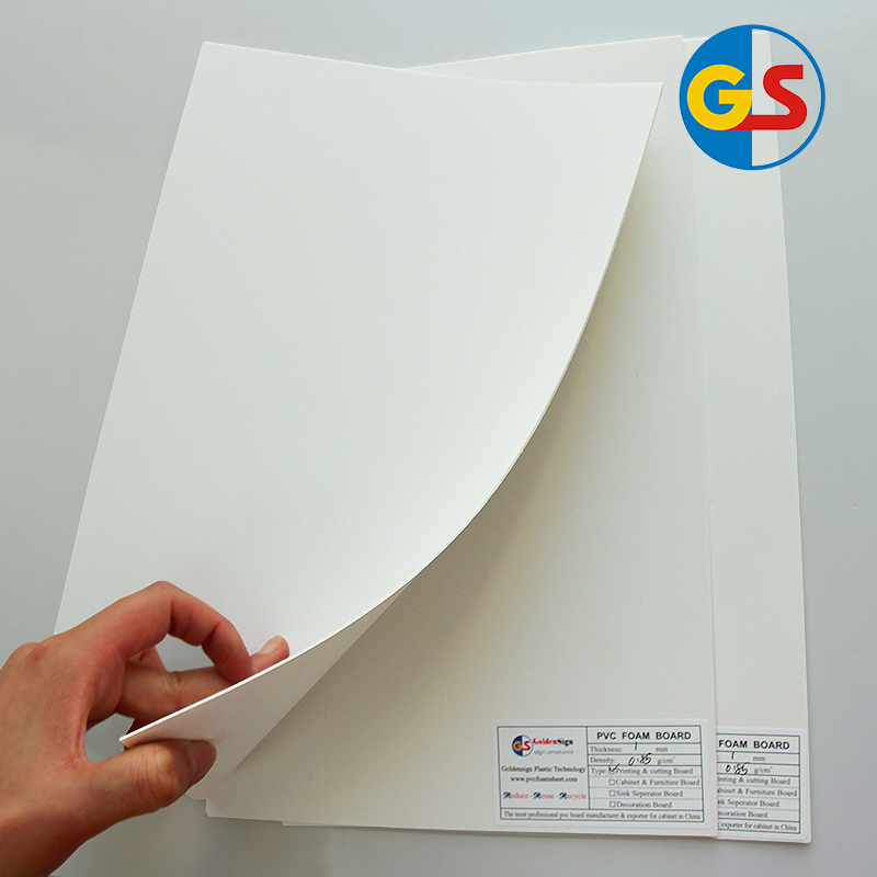 1-6mm Thickness Pvc Foam Sheet for Sign