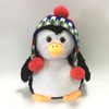 New Hot Wholesales Factory Direct Business Plush Penguin With Hat