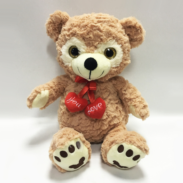 Valentine Gifts Soft Stuffed Animal Toys Plush Teddy Bear with Heart