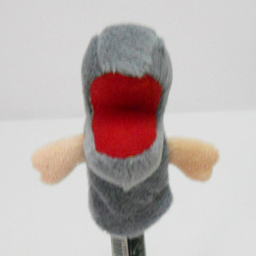 Plush Stuffed Toy Velociraptor Finger Puppet for Kids