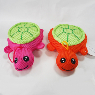 Lovely Sandwich Quick-drying Animal Tortoise Bath Toys for Baby
