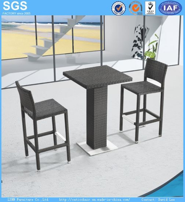 PE Rattan Bar Furniture Rattan Bar Stools Rattan Bar Table