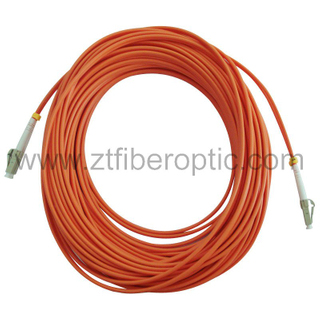 Multimode Duplex LC-LC Optical Fiber Patch Cord