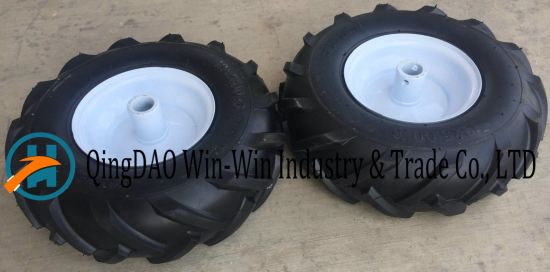 Wear-Resistant Rubber Wheels Used on Machine
