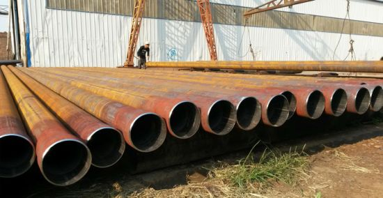 API 5L Lasw Welded Carbon Steel Tube Steel Pipe
