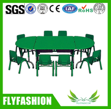 Modern kindergarten school furniture with chairs and tables(SF-05C)