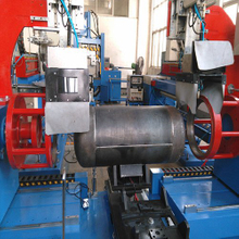 LPG Gas Cylinder Manufacturing Machine Producing Line Hlt