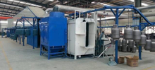 Cylinder Powder Coating Line for LPG Cylinder Production Line