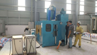 2000PCS Per Shift LPG Cylinder Zinc Metalizing Machine