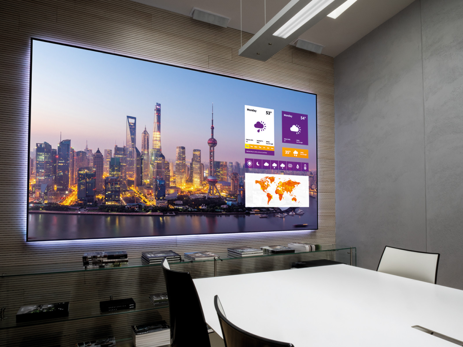 Black Diamond Projector Screen Anti-light Projection Screen With 1cm Frame