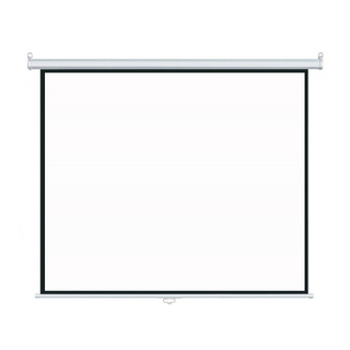 Manual Wall Projection Screen Pull Down Projector Screen