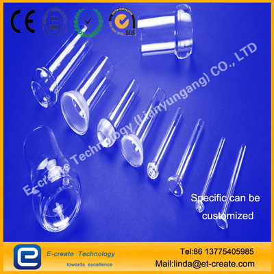 Quartz ball, quartz ball bowl, quartz connector processing custom, good sealing quartz connector