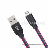 Customized USB2.0 Charging Data Cable of Seven Colour Flower for Android