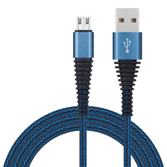 Nylon Lines Braided USB Cable for Android