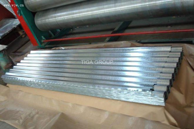 Factory Price Fire Resistance and Waterproof Zinc Galvanized Roof Tiles