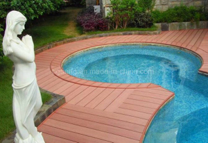 Low Maintenance Building Material/Outdoor WPC Decking Floor in North America