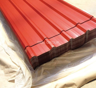 Popular Color Coated Steel Plate PPGI/PPGL Corrugated Roofing Sheets
