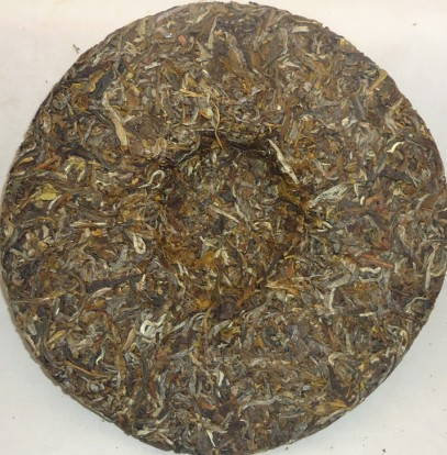 Green Puer cake(Without oxidized)