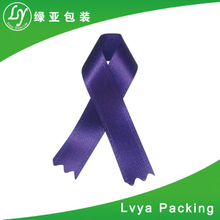 polyester solid blue colour Grosgrain Ribbons for package