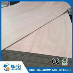 1220*2440mm Ordinary Commercial Plywood Poplar Core (HBC002)