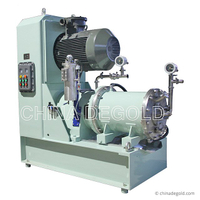 Degold 60 Liter Pin Type Horizontal Bead Mill