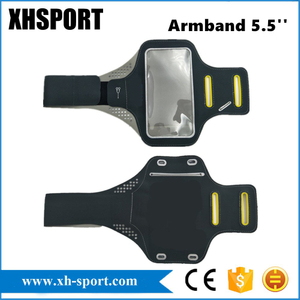 Universal Adjustable Exercise Running Mobile Phone Armband with Touch Screen