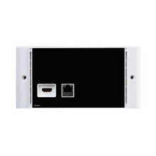 1 In 1 Out HDMI+RJ45<br>Intput Wallplate (HD1401)