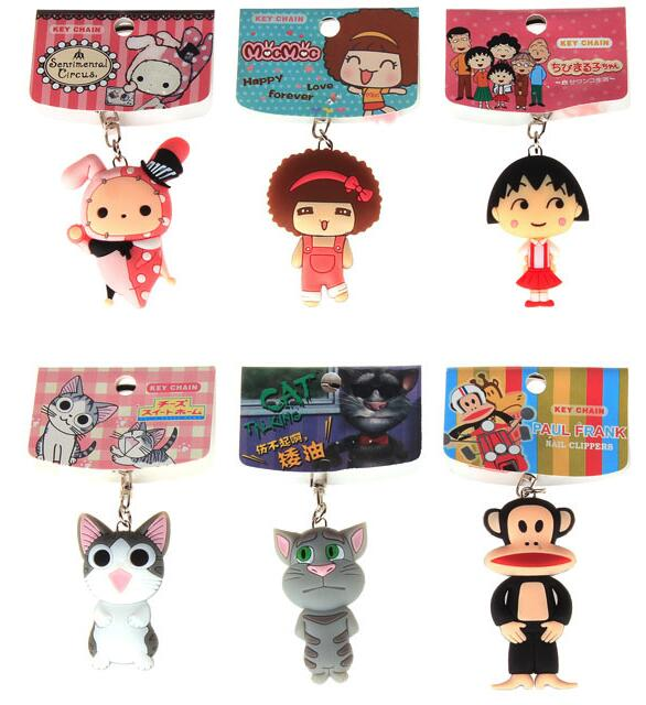 customized cute keyrings for girls