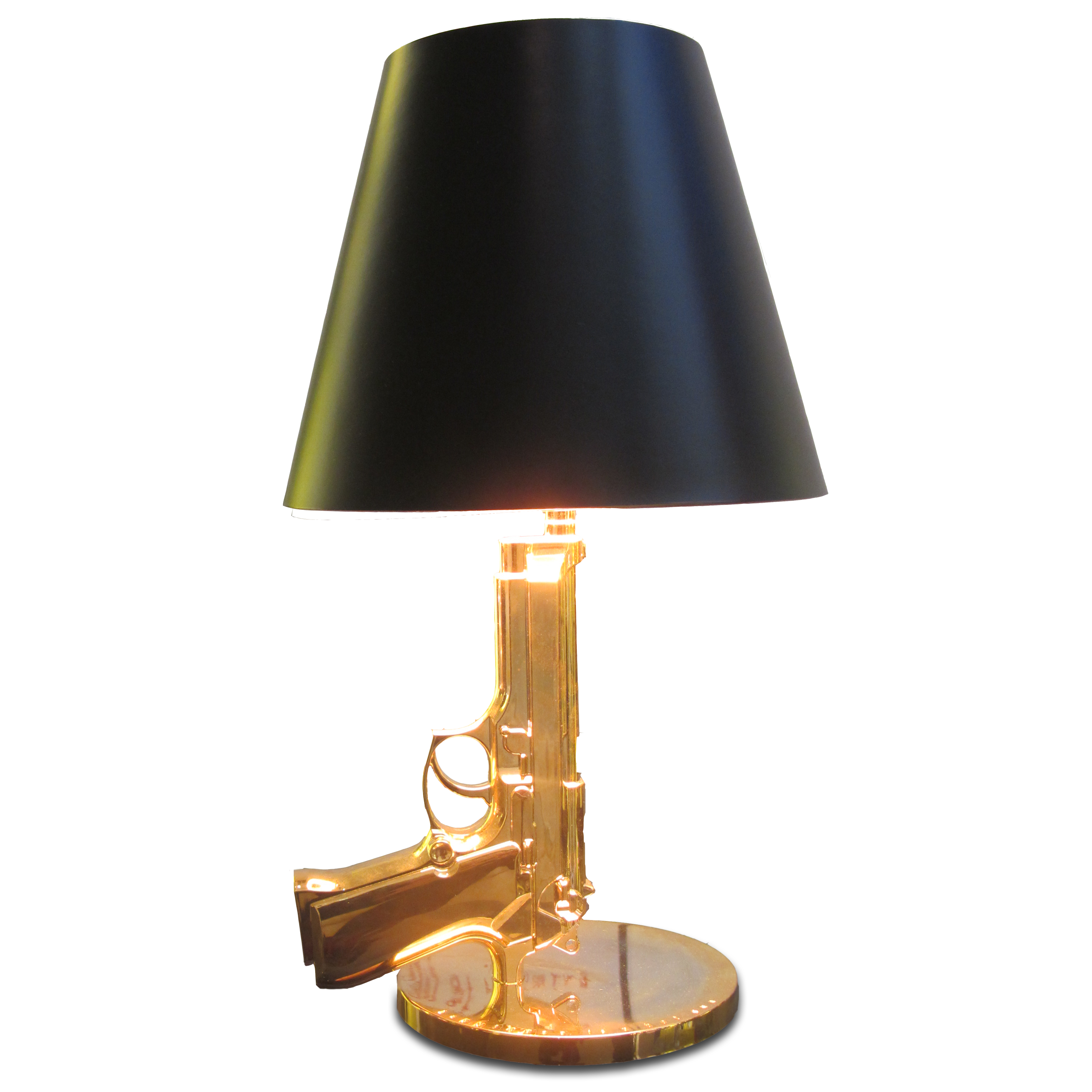 Gun Shape Home Decorative Table Lamp Hotel Project Light Made In China