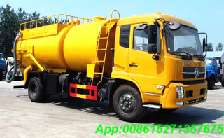 DFL Vacuum tanker Combined water Jetting truck