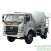 5m3 180HP Mini Mixer Truck FOTON