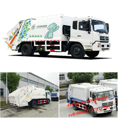 Dongfeng Kingrun Trash Compactor Truck garbage truck(8-10T)