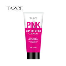Tazol temporary hair color gel pink