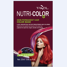 2016 Sacheted Nutricolor Semi-Permanent Hair Color Mask