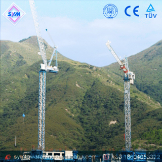 FL25/24 Chinese Manufactured Luffing Jib Tower Crane